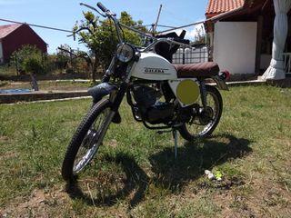 clasica historica restaurar moto gilera ra enduro