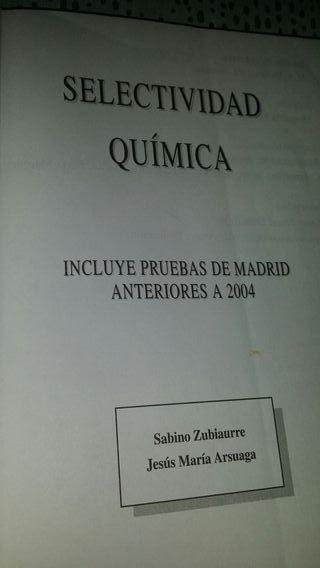 selectividad pruebas 2004. química. EVAU