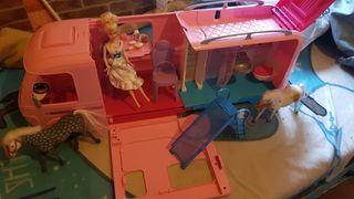 autocaravana, Barbie original Mattel