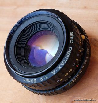 Objetivo SMC Pentax A 50 mm F/2.