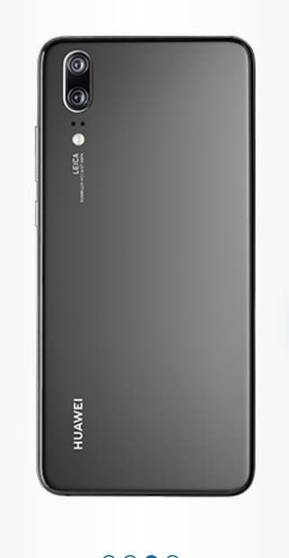 Huawei P20 Emily-L29C - 128GB - Black (Unlocked)