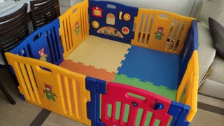 Parque infantil i-baby Play Twin