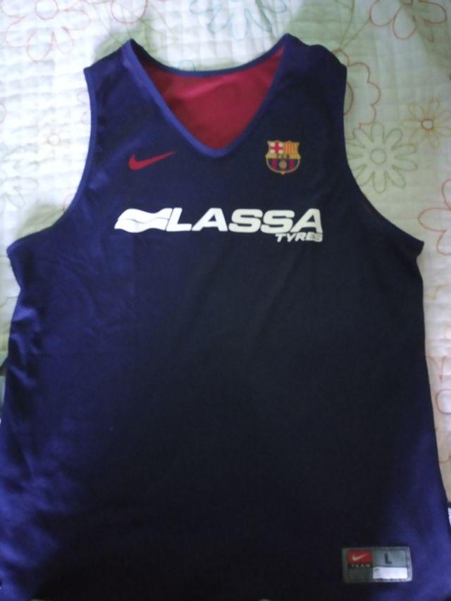 Camiseta entrenamiento FC Barcelona Lassa.