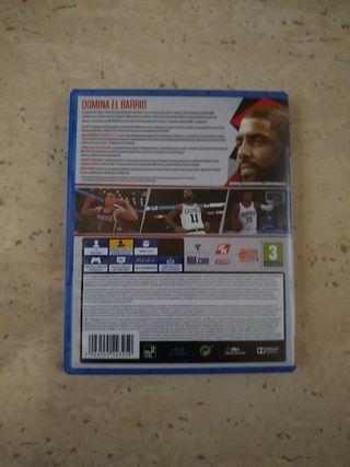 JUEGO PS4 NBA 2K18