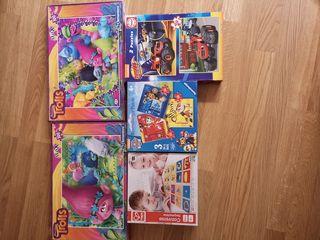 5 puzzles 4 años+.TAMB. VENDEN SEPARADO