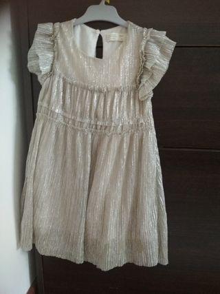 vestido Zara niña 5-6