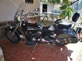 Moto Yamaha 650 Drag Star Classic