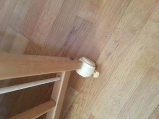 Cuna de madera!