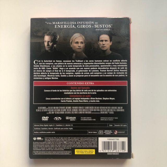 Trueblood sexta temporada completa dvd