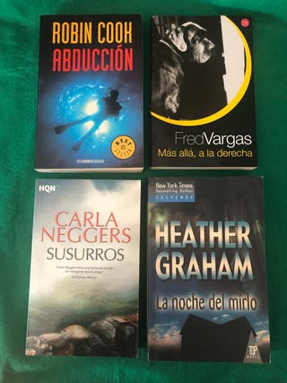 Lote libros novela suspense