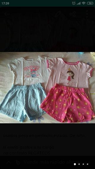 lote pijamas 3_4 años