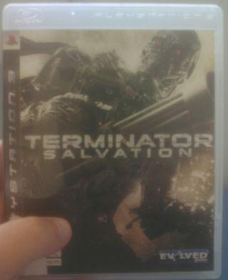 Terminator Salvation juego de PS3