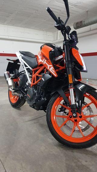 KTM DUKE 390 SOLO 2500KM