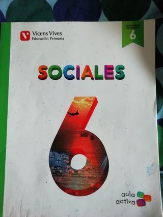 Libro de texto Sociales 6