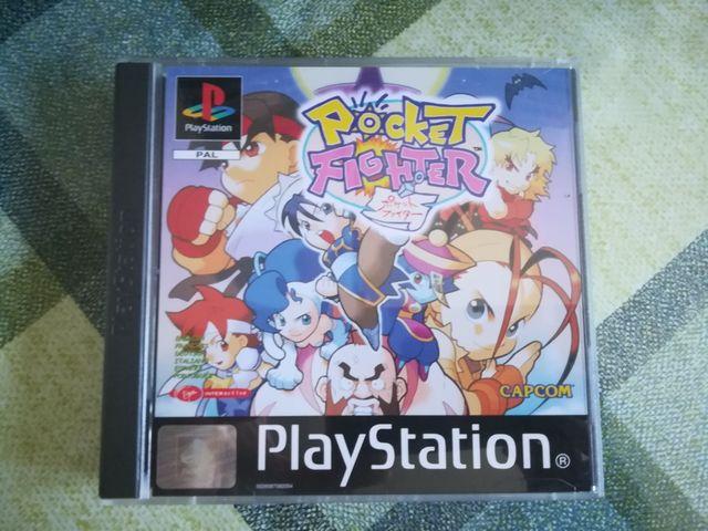 Pocket Fighter Completo como nuevo Ps1