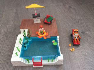 Playmobil piscina con terraza 5575