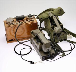 Teléfono campaña militar
