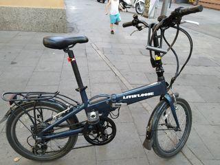 4248f35c8 Bicicleta eléctrica plegable de segunda mano en Barcelona en WALLAPOP