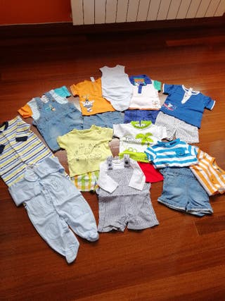 lote de ropa de bebé talla 3/6 meses