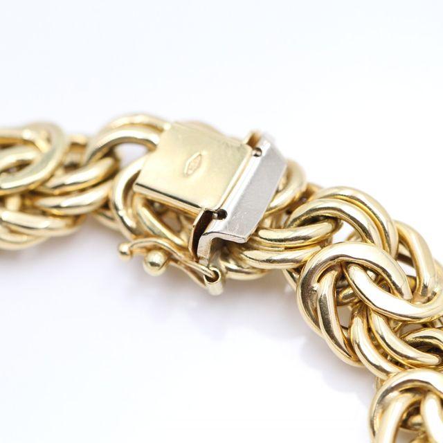 Pulsera Húngara de oro de segunda mano G102747