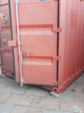 contenedor de hierro