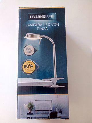 Lámpara LED con pinza - NUEVA