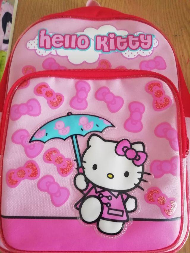 Mochila preescolar Hello Kitty
