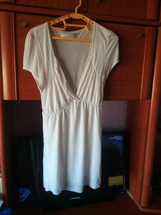 blusa Blanca de pico XL