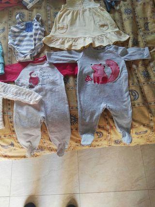 Lote ropa de bebé 6€