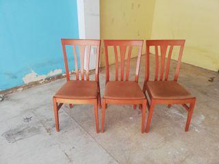 sillas 3 por 30 euros