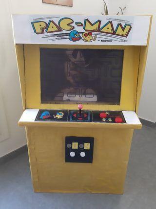 Disfraz de máquina Pacman