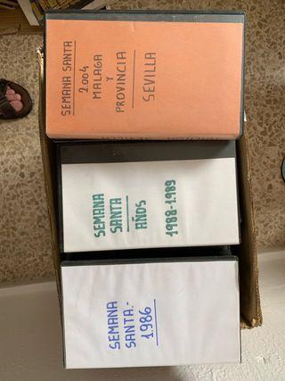 Colección 100 cintas VHS Semana Santa