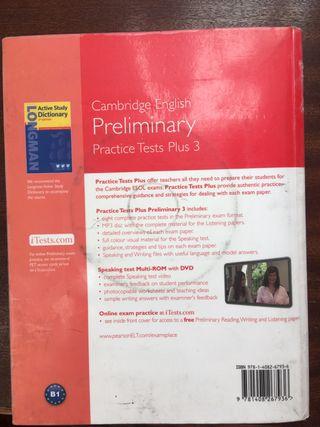 Libro Inglés Cambrige English Preliminary