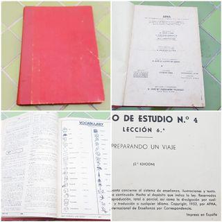 Libro ingles antiguo 1952