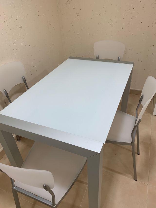 Mesa de cocina Corte Inglés de segunda mano por 190 € en Madrid en ...