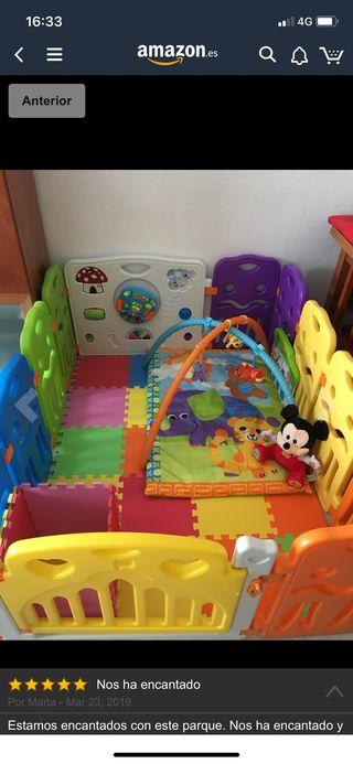 Parque infantil modulable