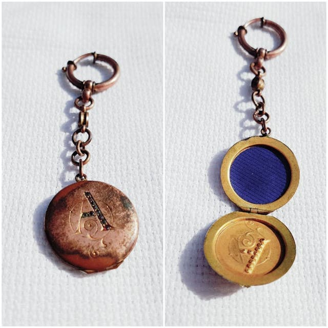 Leontina reloj bolsillo antigua