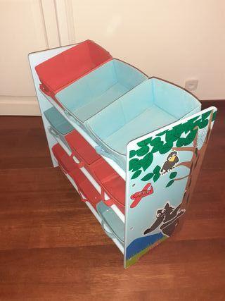 librería/mueble almacenaje infantil