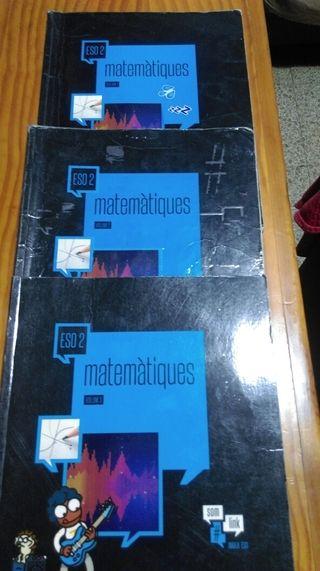 libros 2 de ESO Maristas Valldemia
