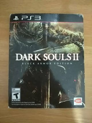 Dark souls II ps3 black armor edition