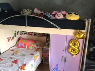 Habitación niña, literas,perfecto estado