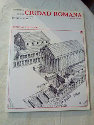 Libro nacimiento de una ciudad romana