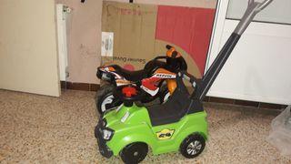 coche + moto para niños