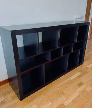 KALLAX - Estantería negra - Ikea
