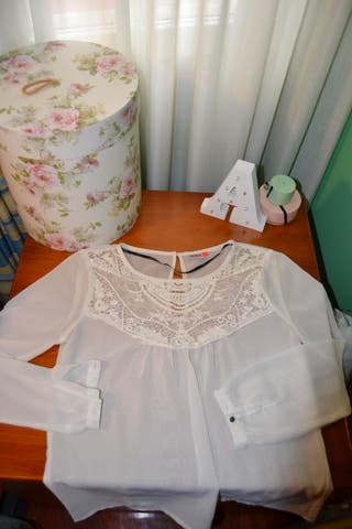 Blusa Blanca Only