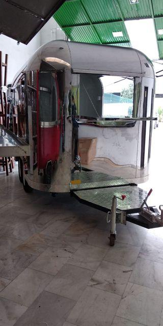 Food truck remolque, 2 ruedas