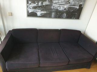 sofá + 2 puff ( conjunto)