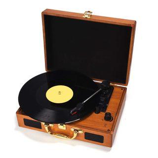 Tocadiscos Maletin Retro Vintage CONVERSOR A MP3