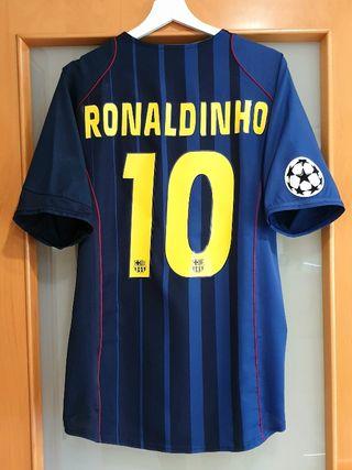 FC Barcelona 2004/05. L. RONALDINHO. CHAMPIONS