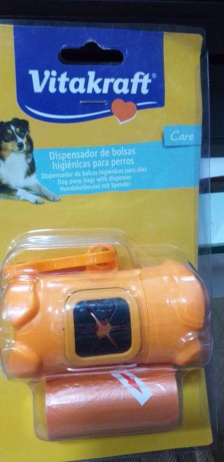 Dispensador de bolsas higiénicas